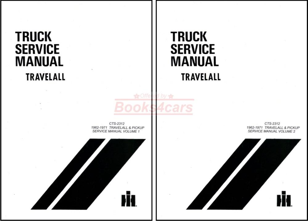medium resolution of 62 71 travelall pickups half ton to one ton shop service repair manual by international 67 9468