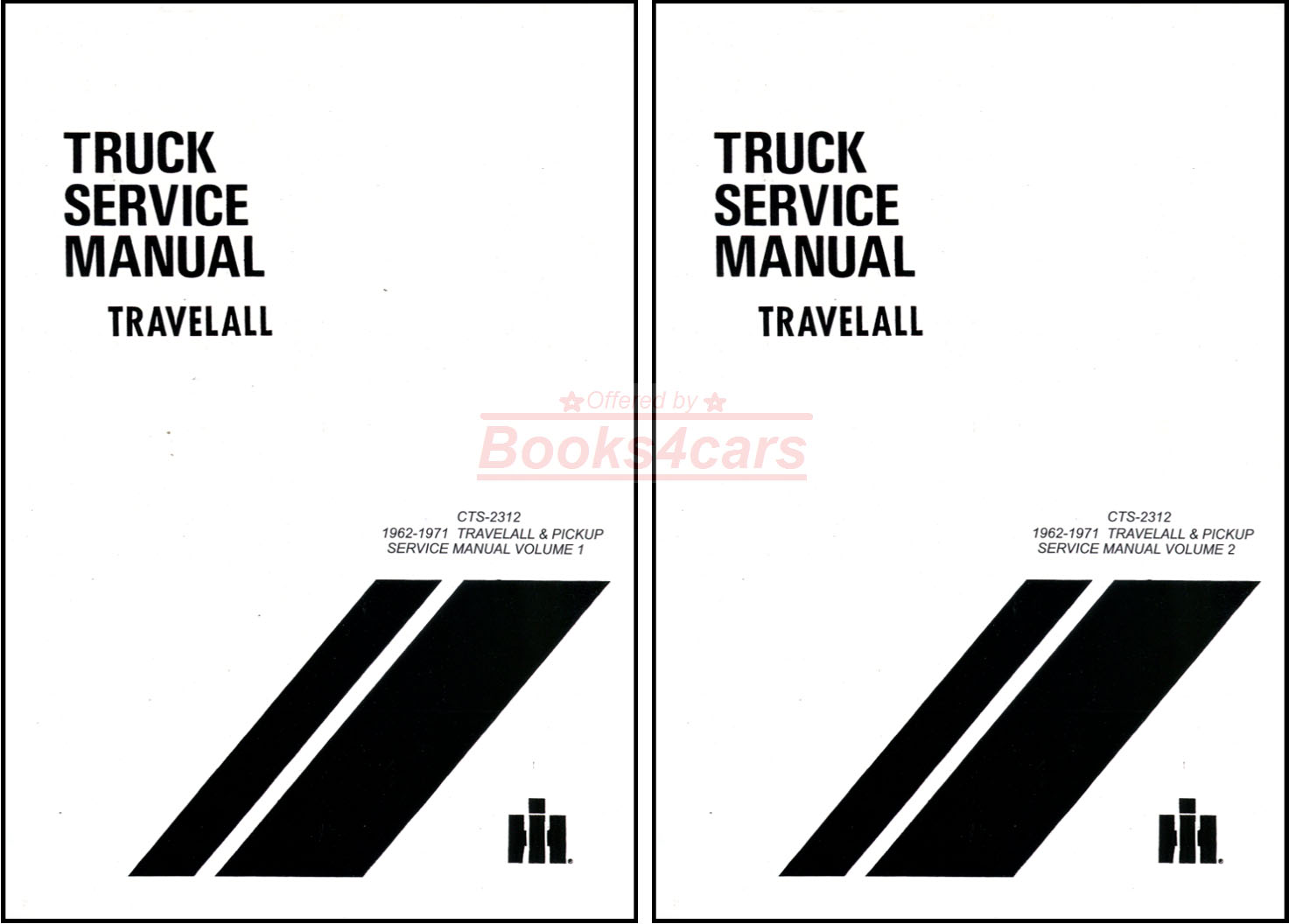 hight resolution of 62 71 travelall pickups half ton to one ton shop service repair manual by international 67 9468