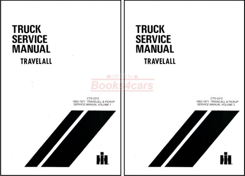 small resolution of 62 71 travelall pickups half ton to one ton shop service repair manual by international 67 9468