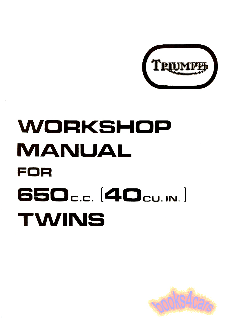 Triumph Bikes Manuals at Books4Cars.com