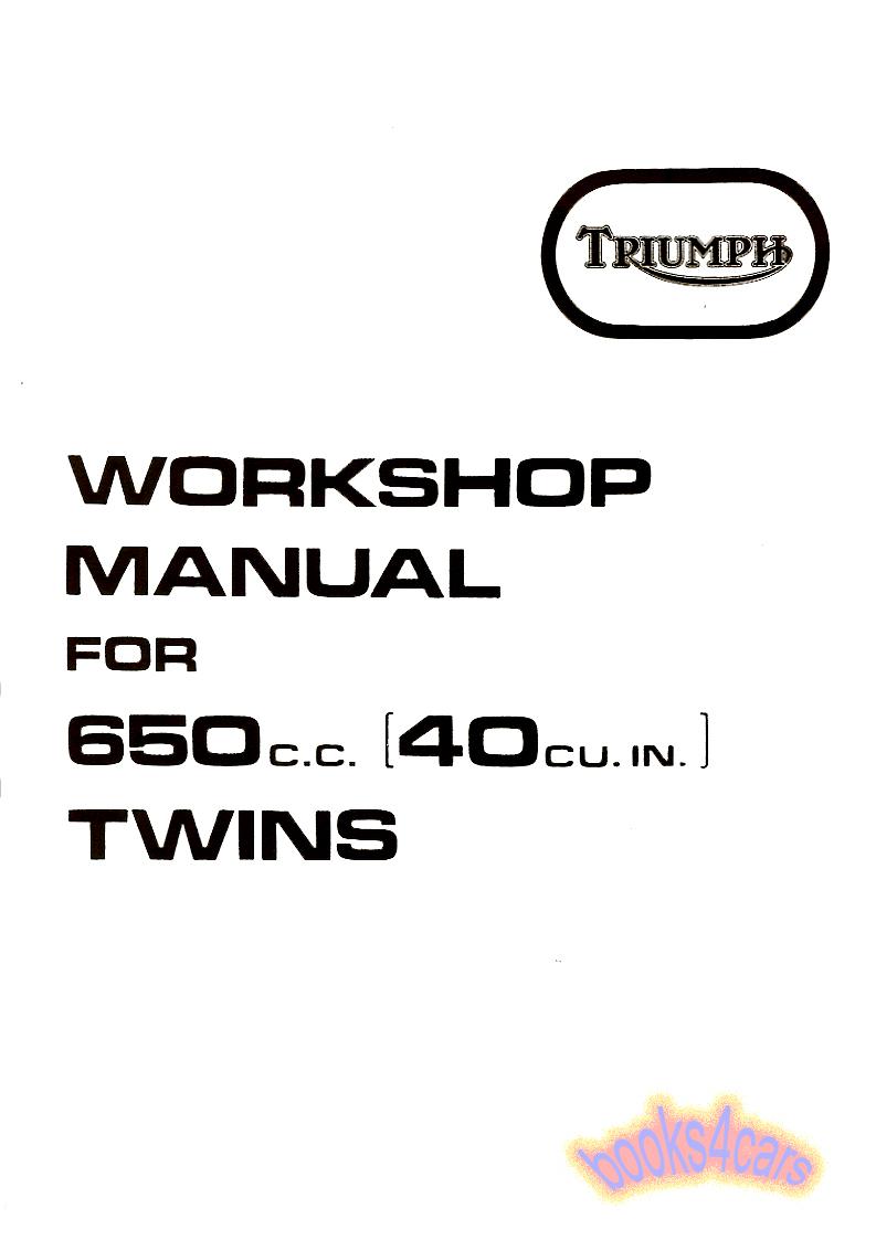 Triumph Bikes Manuals at Books4Cars.com