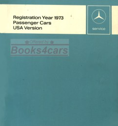 73 usa new items service technical introduction manual passenger cars by mercedes 73 new svc  [ 775 x 1089 Pixel ]