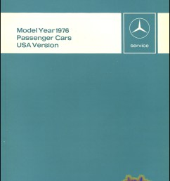 1976 technical introduction for all us models 87 pages by mercedes 76 6510 1266 02  [ 791 x 1056 Pixel ]