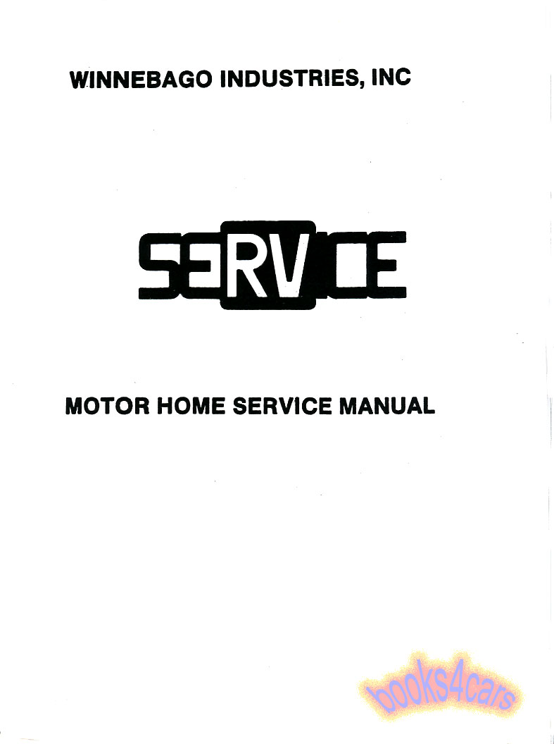 winnebago Manuals at Books4Cars.com