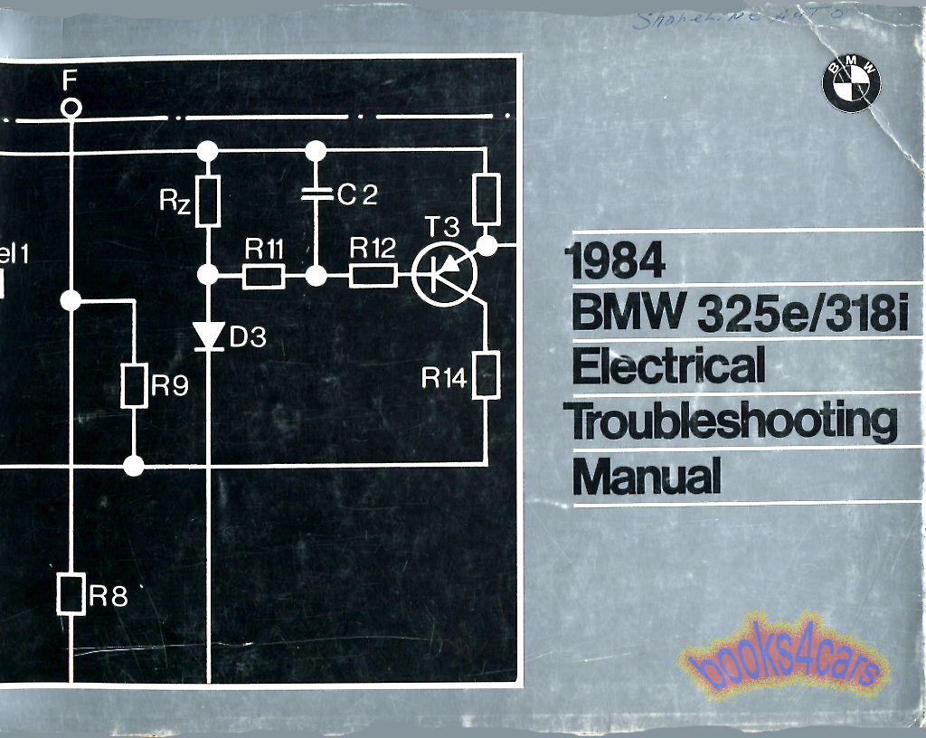 hight resolution of 84 325e 318i electrical troubleshooting manual by bmw 84 01001467800