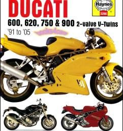 91 05 v twins haynes shop service repair manual for ducati 600 750 900 2 valve hardcover 935 3290 34 95 [ 795 x 1043 Pixel ]