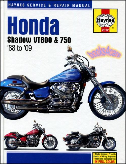 small resolution of 88 09 honda vt600 750 shop service repair manual by haynes for vt 600 vt750 vt600c shadow vlx vt600cd vt750c vt750cd american classic edition