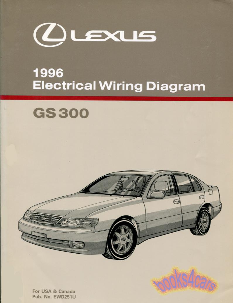 hight resolution of lexus gs300 shop service manuals at books4cars rh 1995 es300 owners manual 95 lexus es300 95 lexus es300 wiring diagram