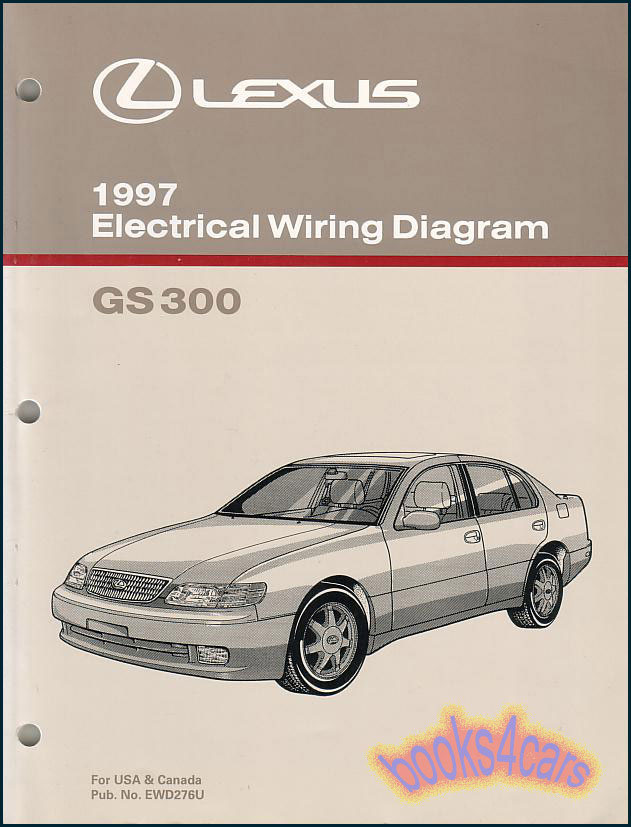Shop Manual Lexus Sc400 Sc300 Electrical Wiring Diagram 1998 Schematic