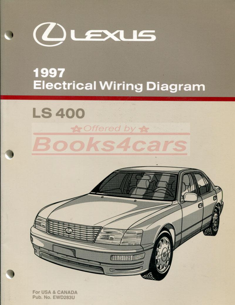 medium resolution of 97 ls400 electrical wiring diagram manual by lexus 97 ewd283u