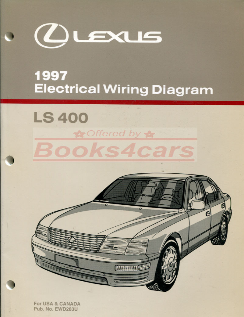 hight resolution of 97 ls400 electrical wiring diagram manual by lexus 97 ewd283u