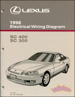 SHOP MANUAL LEXUS SC400 SC300 ELECTRICAL WIRING DIAGRAM