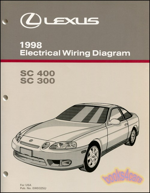 small resolution of 98 sc400 sc300 electrical wiring diagram shop manual by lexus for sc 400 300