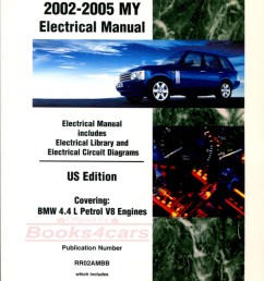 02 05 range rover electrical wiring shop manual by land rover b035 rr2aem  [ 777 x 1109 Pixel ]