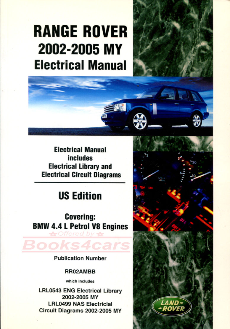 hight resolution of 02 05 range rover electrical wiring shop manual by land rover b035 rr2aem
