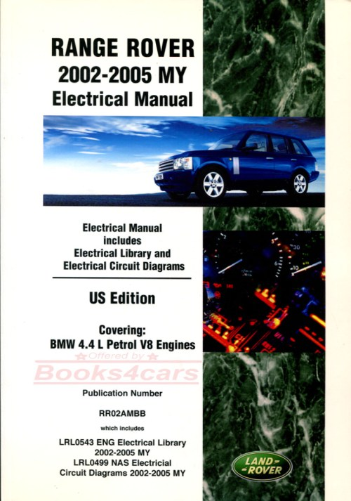 small resolution of 02 05 range rover electrical wiring shop manual by land rover b035 rr2aem