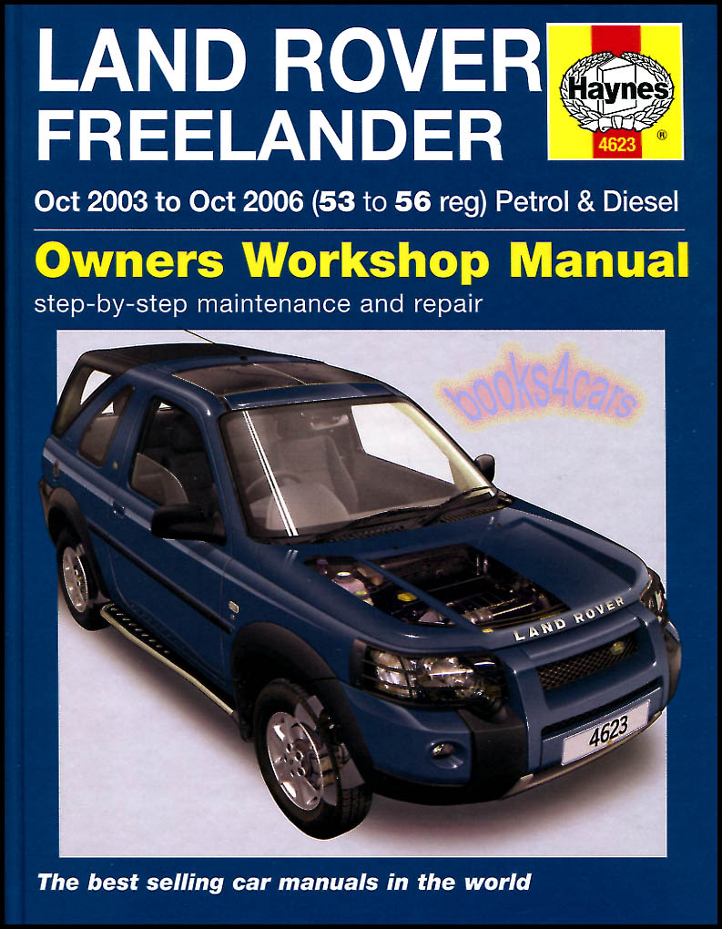 Land Rover Freelander 2 Ii Workshop Repair Manual Amp Wiring
