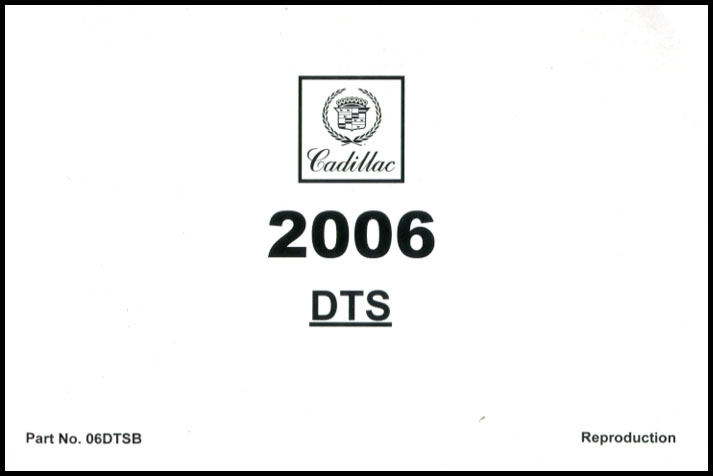 cadillac dts Manuals at Books4Cars.com