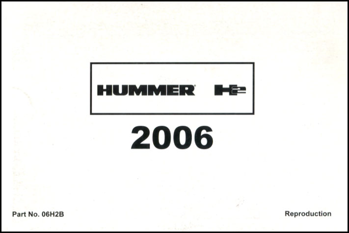 Hummer Manuals at Books4Cars.com