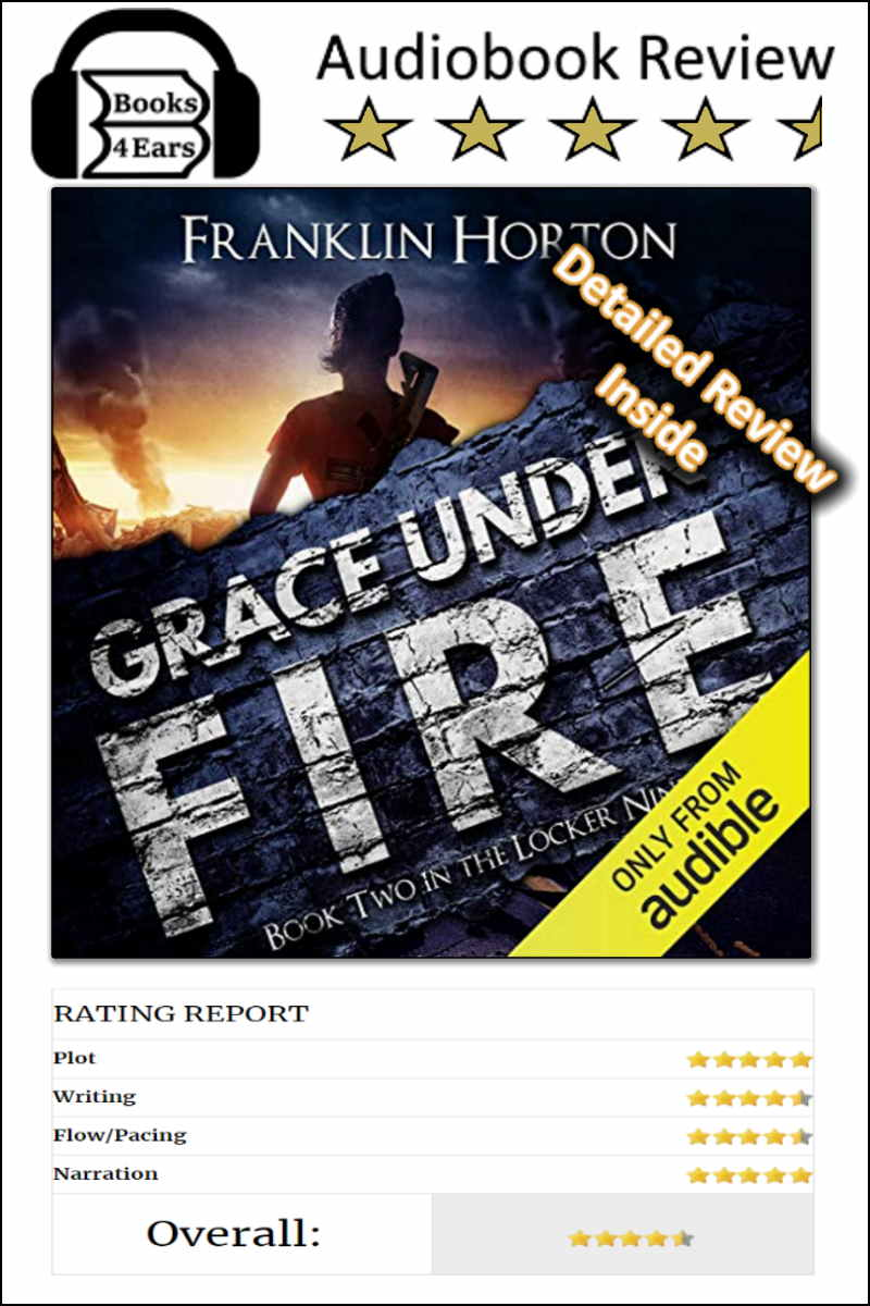 Grace Under Fire detailed book review and complete character list @Books4Ears via @Books4Ears