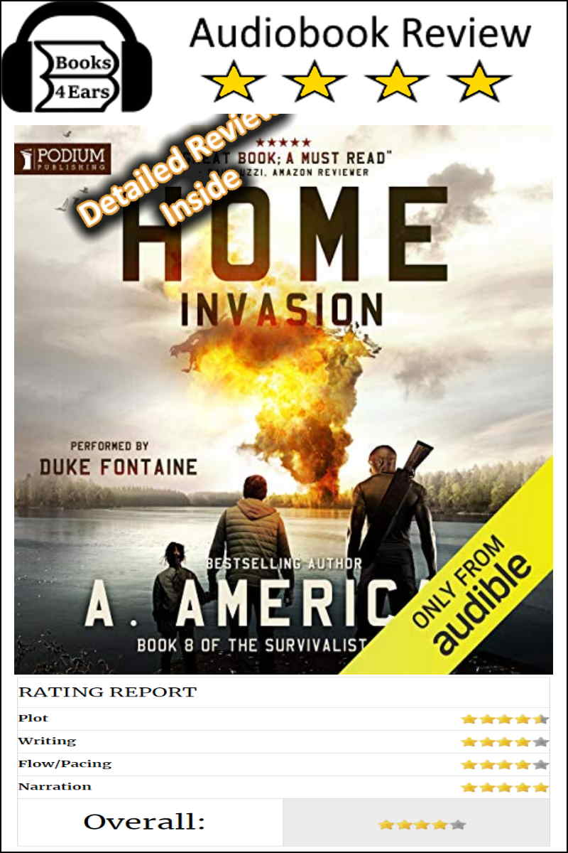 Home Invasion detailed book review and complete character list. via @Books4Ears via @Books4Ears