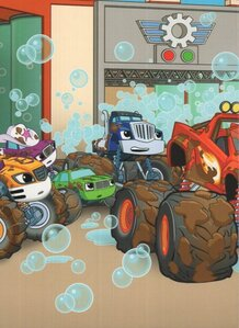 Blaze And The Monster Machines Trouble At The Truck Wash : blaze, monster, machines, trouble, truck, Truck, Wash!, Blaze, Monster, Machines, (Board, Book)