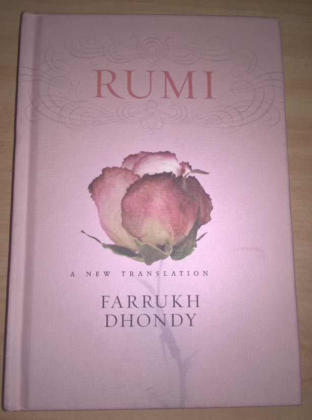 Cover of 'Rumi a New Translation' by Farrukh Dhondy
