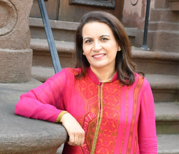 Sujata Massey, the author of the Perveen Mistry series