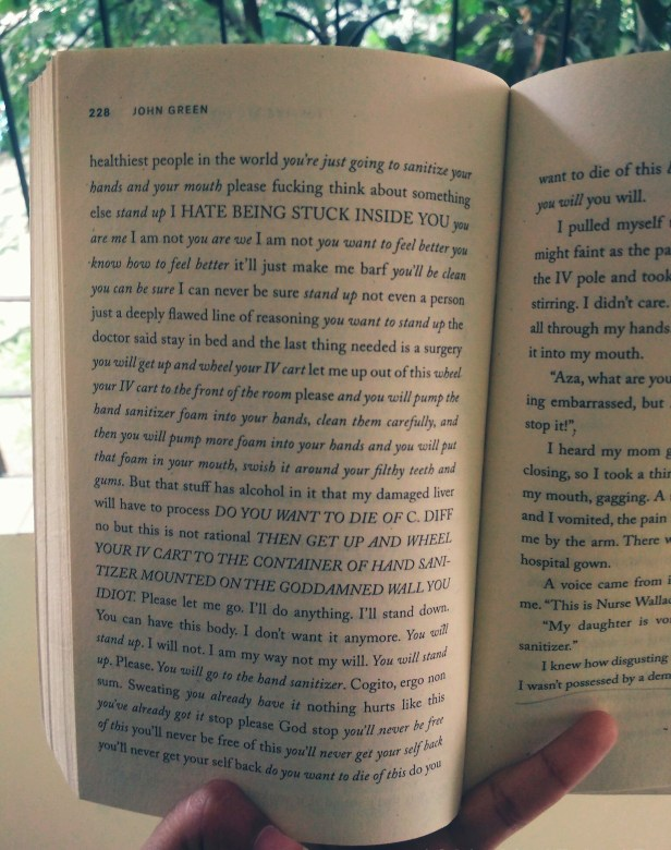 An excerpt from 'Turtles All the Way Down' by John Green