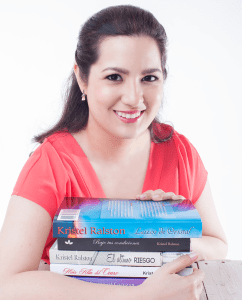 Renowned Spanish contemporary romance author Kristel Ralston