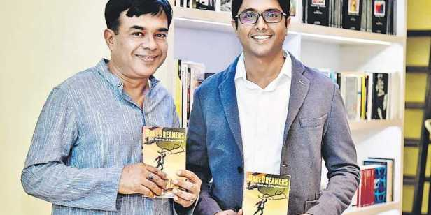 Ravi Nirmal Sharma and Kartik Sharma, authors of The Quest of the Sparrows