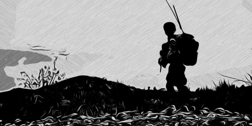 The orphan is a short story about two army cadets who are caught in the middle of a vicious ambush by the enemy