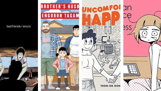 Asian Translated Graphic Novels