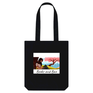 books and bao tote