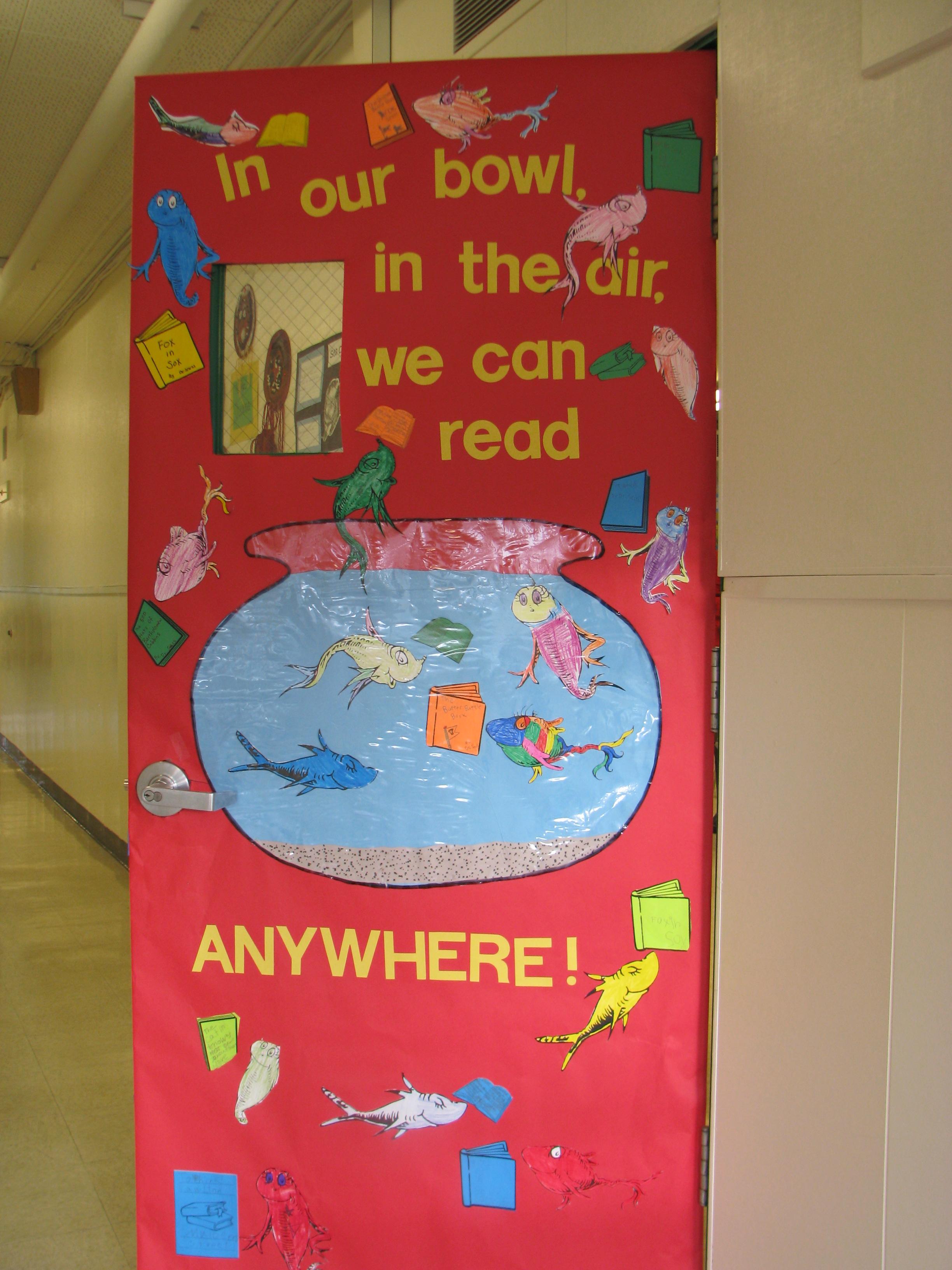 Read Across America  Door Decorating