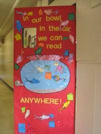 Read Across America  Door Decorating | booksandbassets
