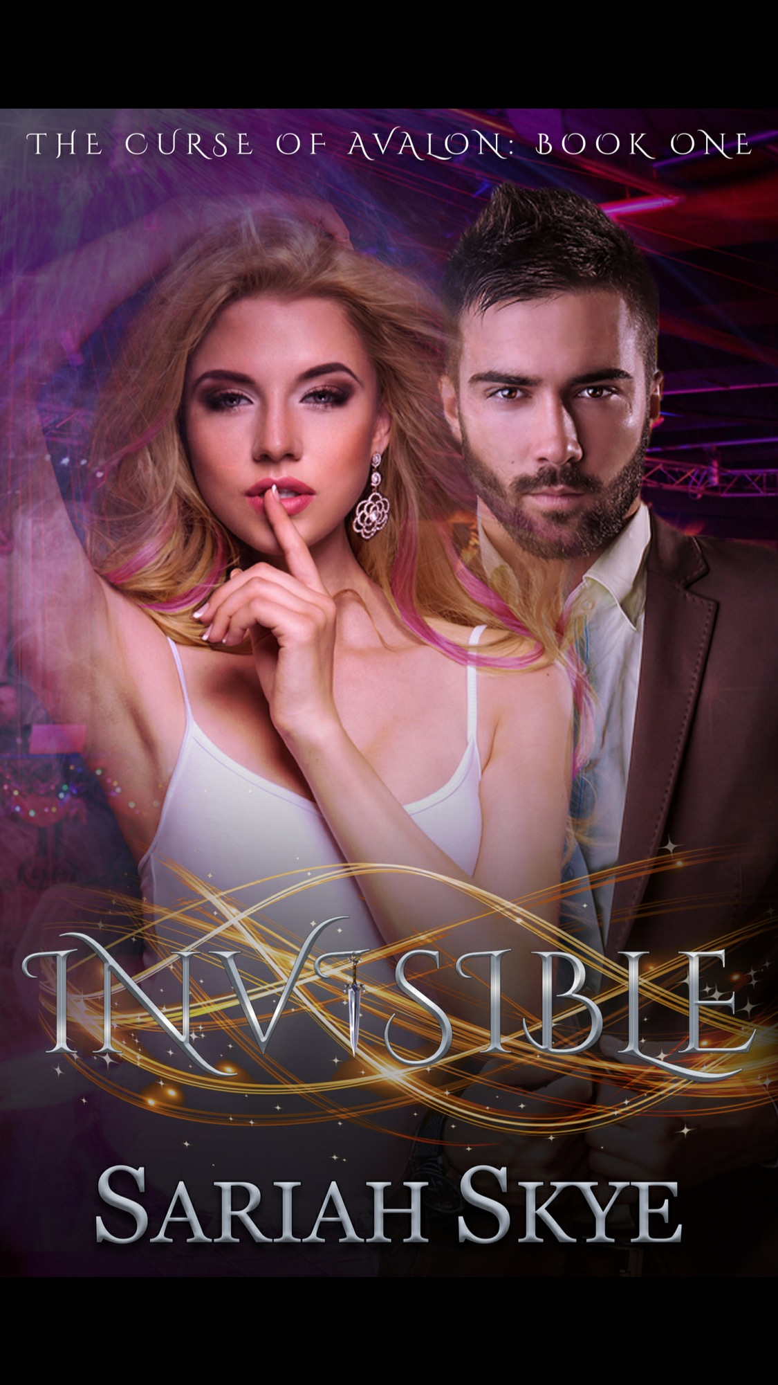 Invisible by Sariah Skye - A Book Review #BookReview #FirstInSeries #RH #WhyChoose #ArthurianLegend #Magic #PNR #Paranormal