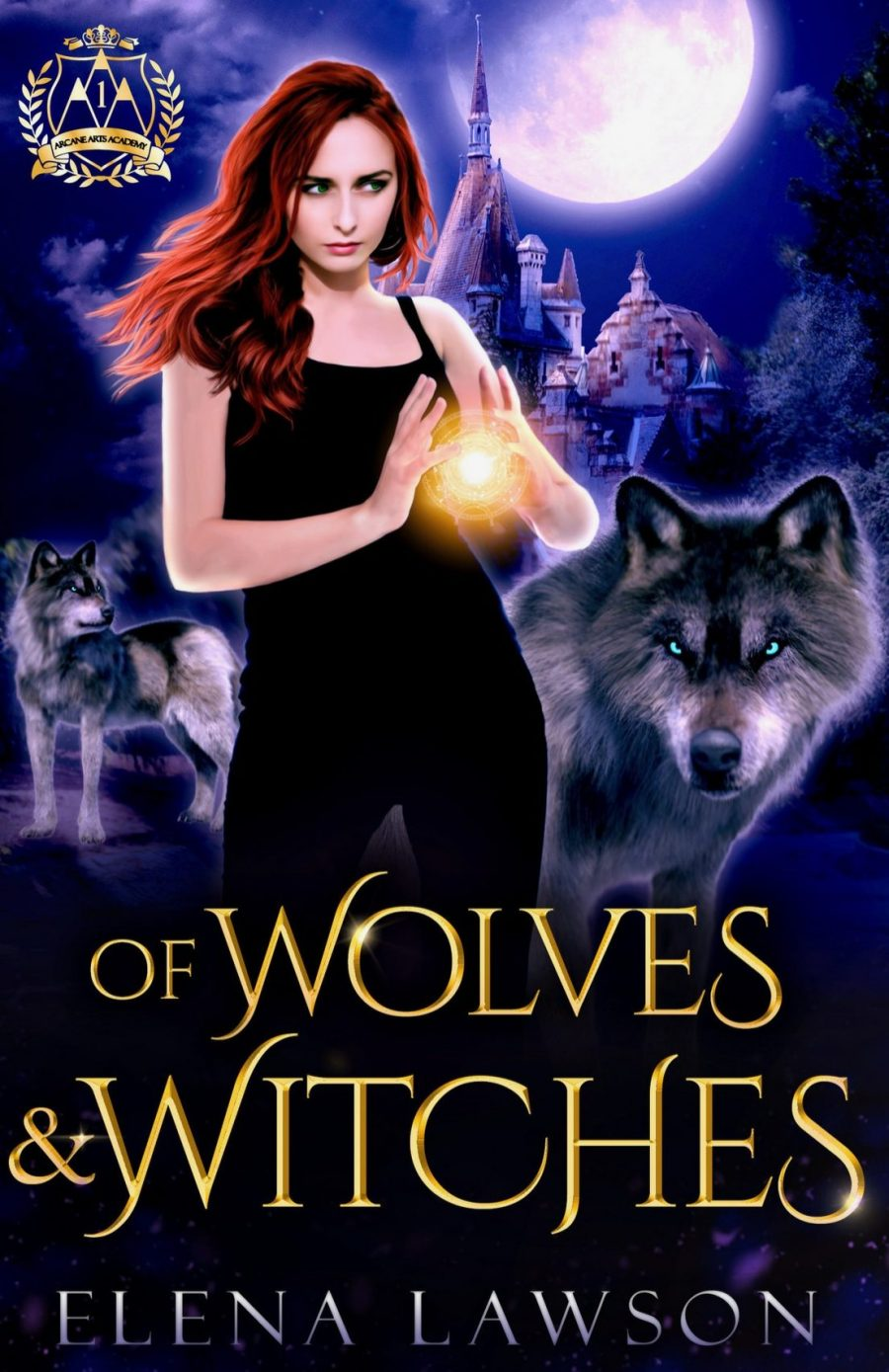 Of Wolves and Witches *Arcane Academy -Book 1* by Elena Lawson - A Book Review #BookReview #SlowBurn #RH #WhyChoose #Wolves #Witches #Shifters #Academy
