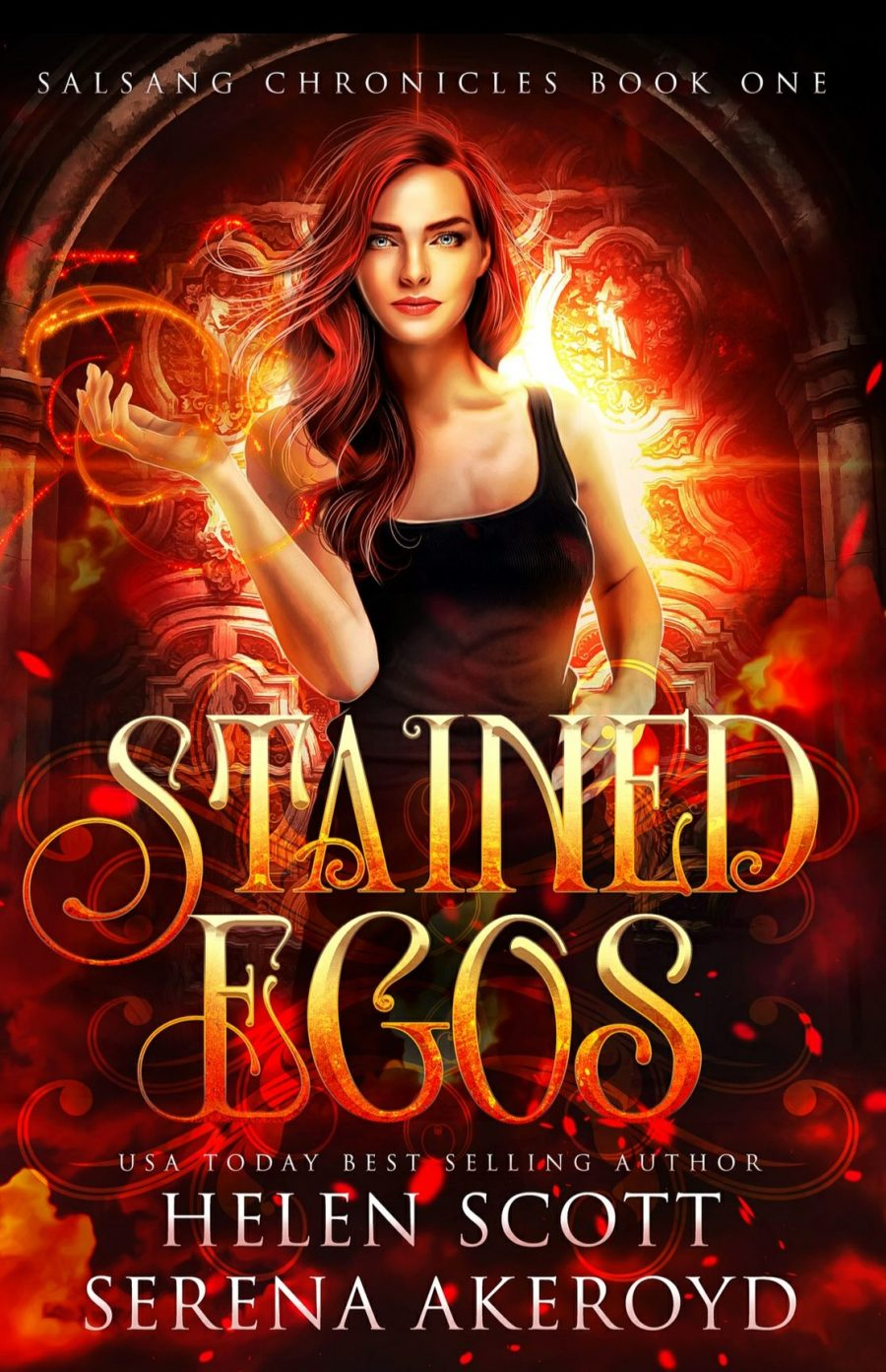 Stained Egos by Helen Scott and Serena Akeroyd - A Book Review #BookReview #RH #WhyChoose #MediumBurn #Paranormal #PNR #Academy #School #BooksAndBlurbs