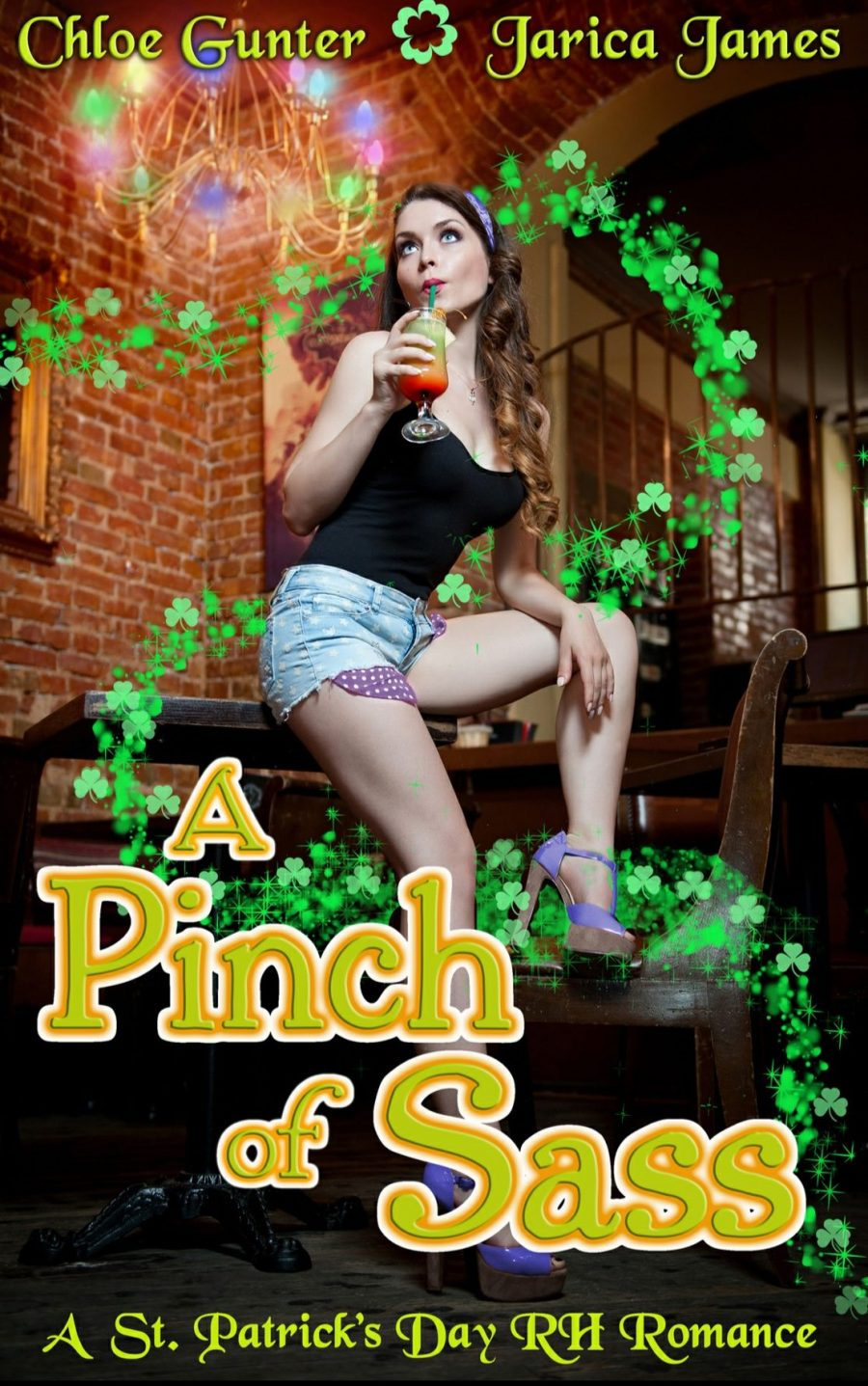 Pinch of Sass by Chloe Gunter and Jarica james - A Book Review #BookReview #RH #WhyChoose #FastBurn #StandAlone #HEA #HOT