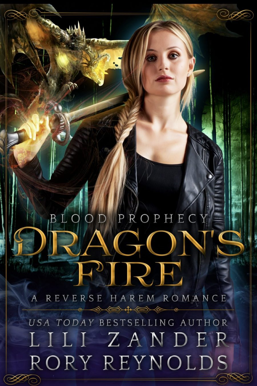 Dragons Fire *Blood Prophecy Book 1 - 5* by Lili Zander and Rory Reynolds - A Book Review #BookReview #RH #WhyChoose #ReverseHarem #PNR #Paranormal #MediumBurn