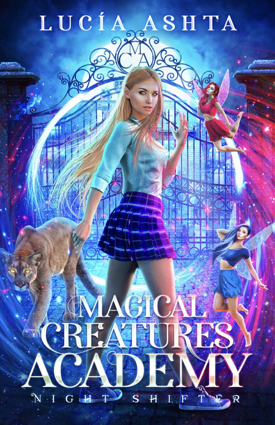 Night Shifter *Magical Creatures Academy - Book 1* by Lucia Ashta - A Book Review #BookReview #Fantasy #Academy #School #YA #NA #Paranormal