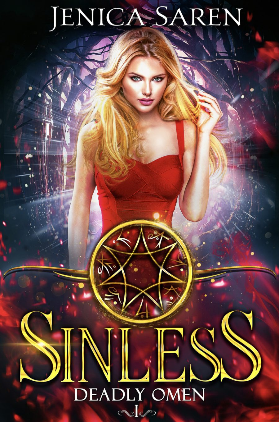Sinless: Deadly Omen Book 1 by Jenica Saren - A Book Review #BookReview #PNR #MediumBurn #RH #ReverseHarem #7deadlysins #WhyChoose