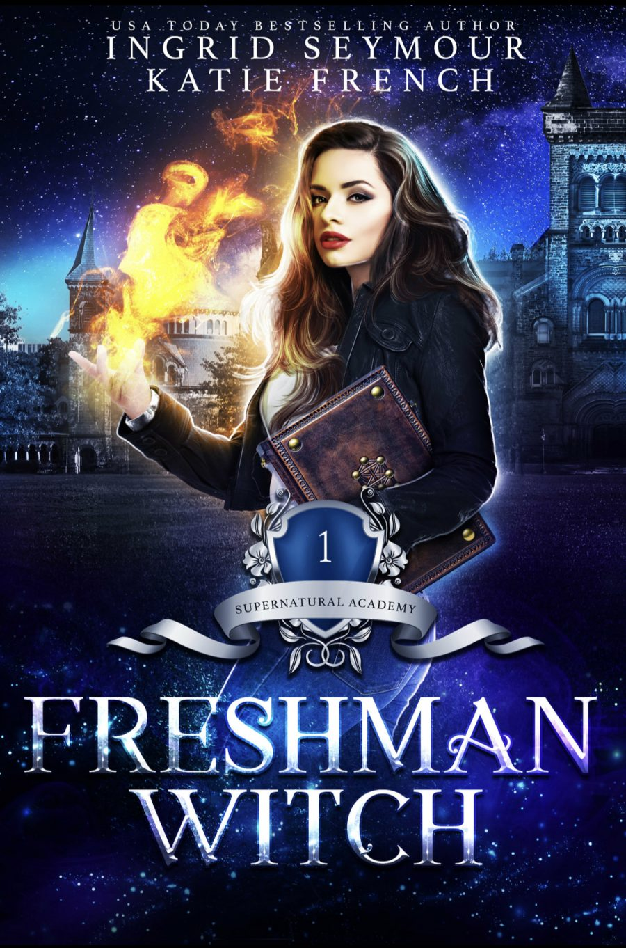 Freshman Witch by Ingrid Seymour and Katie French - A Book Review #BookReview #Review #PNR #Academy #Witches #Paranormal #NA #College