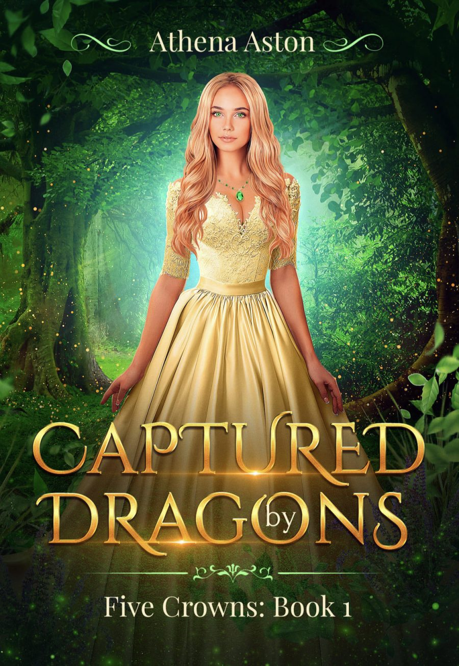 Captured by Dragons by Athena Aston - A Book Review #BookReview #Review #RH #SlowBurn #ReverseHarem #WhyChoose #Dragons #FirstInSeries #Fantasy