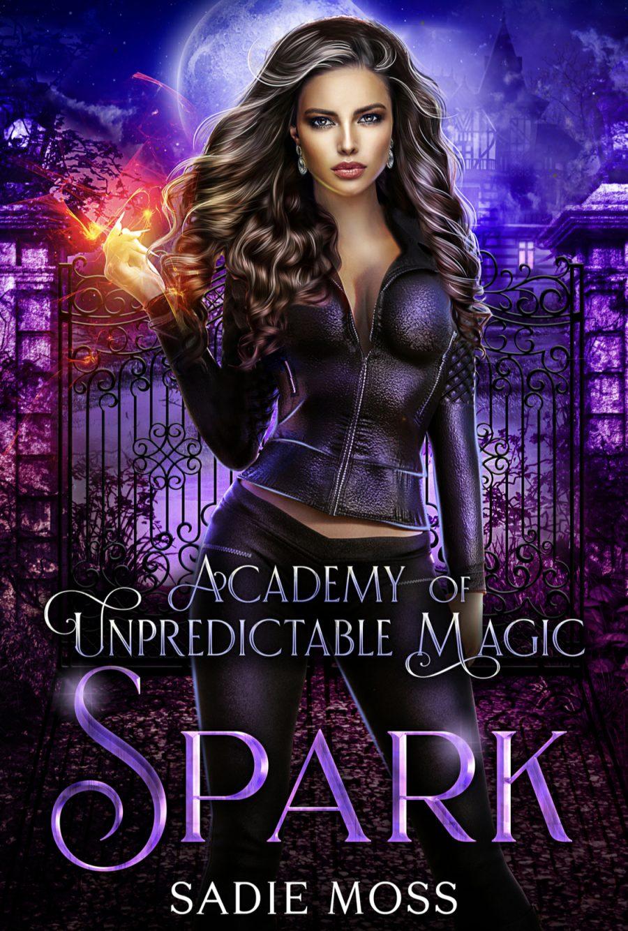 Spark by Sadie Moss - A Book Review #BookReview #MediumBurn #PNR #Academy #ReverseHarem #RH #WhyChoose #NewSeries