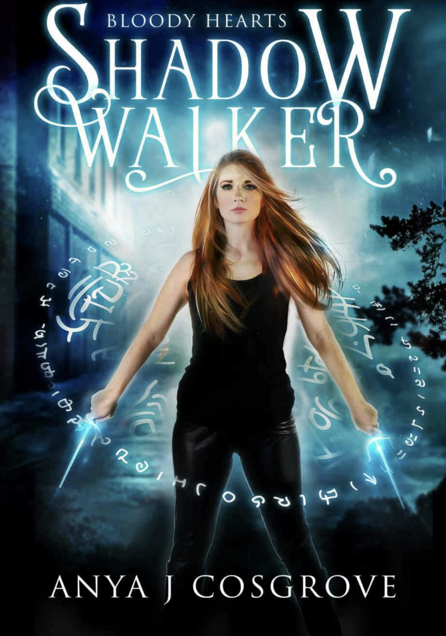Shadow Walker by Anya J. Cosgrove - A Book Review #BookReview #Review #UF #UrbanFantasy #PNR #Paranormal #4Stars #Demons #Witches #KU #KindleUnlimited