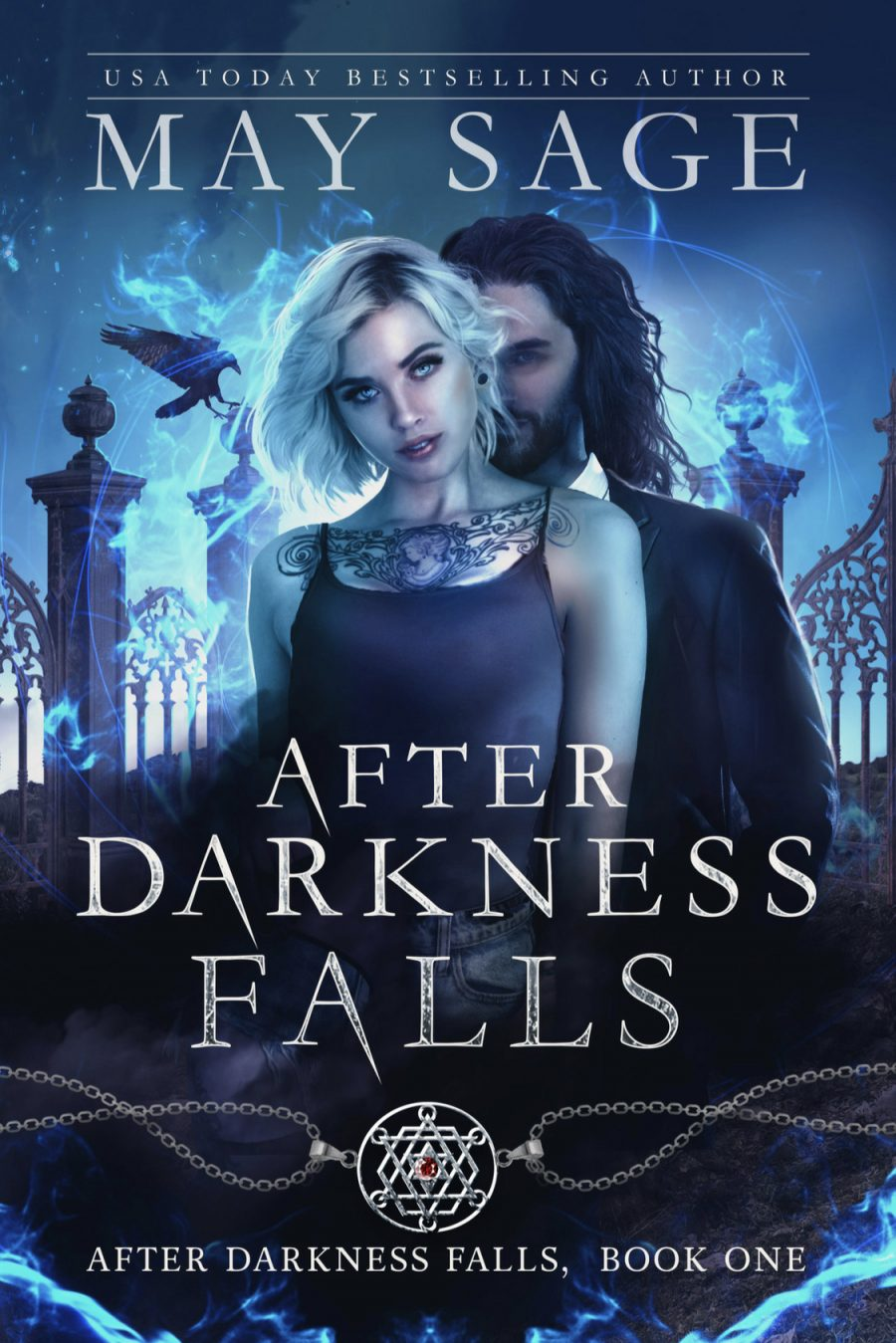 After Darkness Falls by May Sage - A Book Review #BookReview #Review #StandaloneWithinSeries #Vampires #NewWorld #PNR #Paranormal #Romance #UF #KU