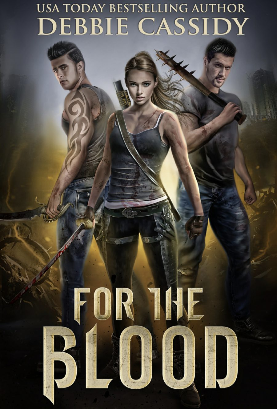 For the Blood by Debbie Cassidy - A Book Review #BookReview #Review #UrbanFantasy #UF #RH #ReverseHarem #WhyChoose #Vampires #4Stars #KindleUnlimited #KU