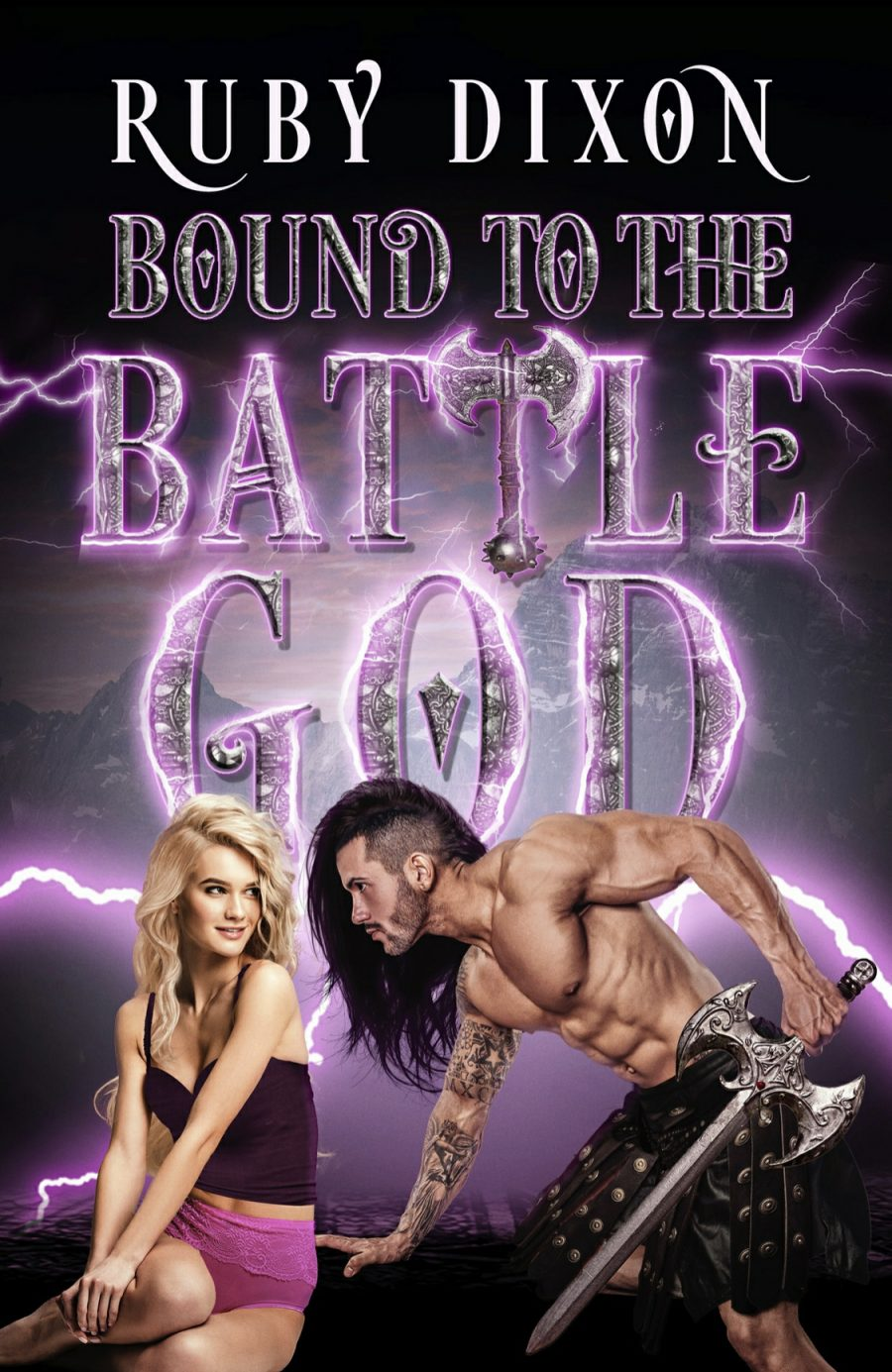 Bound to The Battle God by Ruby Dixon - A Book Review #BookReview #Review #FantasyRomance #Fantasy #HEA #StandAlone #Gods #Mortals #NewRelease #5Star #KindleUnlimited